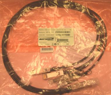 1m QSFP+ to 4xSFP+ fanout,26 AWG (10202)